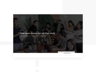 1216 Media - UI Animation motiongraphics motion design after effects webdesign motion interface design landing desktop website web ui animation