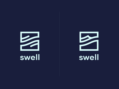 Swell Logo Concept concepts branding icons logo