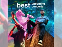Upcoming concert compilation