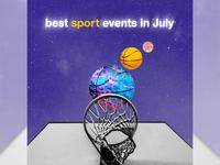 Sport event compilation