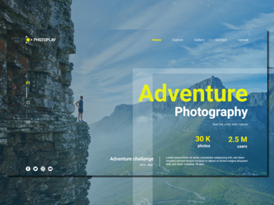 Adventure Photography Contest_Landing Page