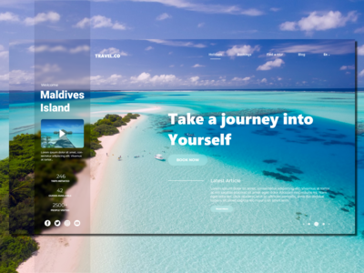 Travel.co_Landing Page Concept