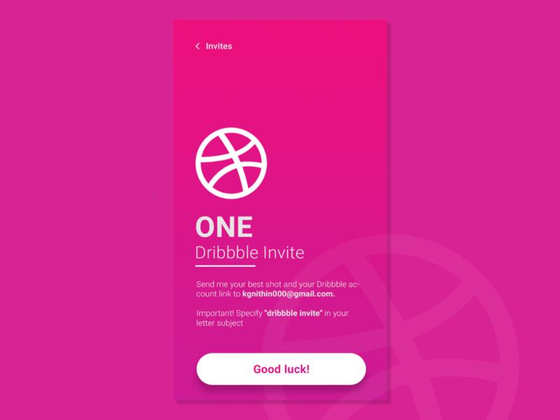 Invite design web ui design uiux webdesign invite dribbble invite
