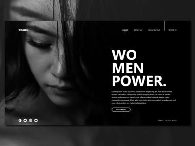 Women_Landing Page