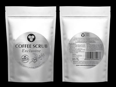 Label COFEE SCRUB