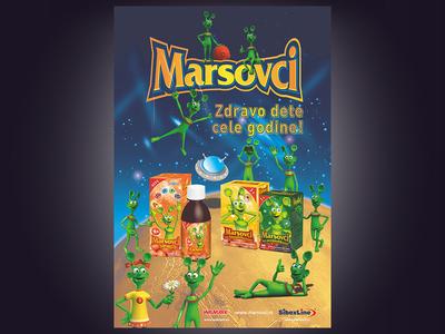 Poster Marsovci A2 Croatia