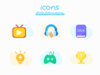 #icons# kids education