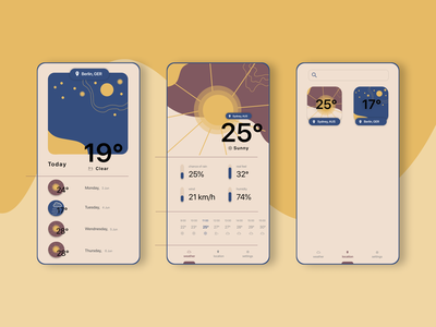 Weather App Exploration challenge weather app weather