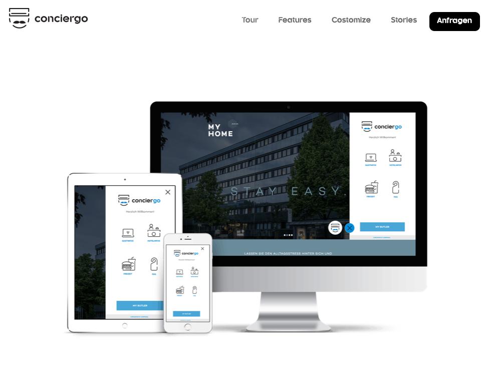 Conciergo Branding UX & UI identity branding website corporate identity ui branding
