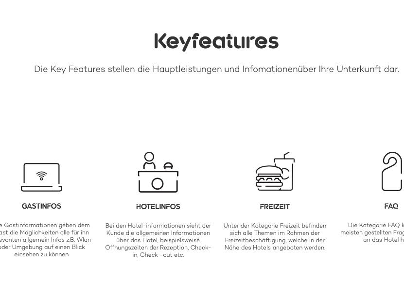 Conciergo Branding UX & UI Icons