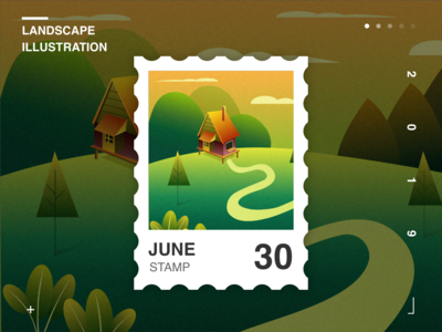Landscape Illustration2