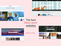 The Best Photo Stock Websites