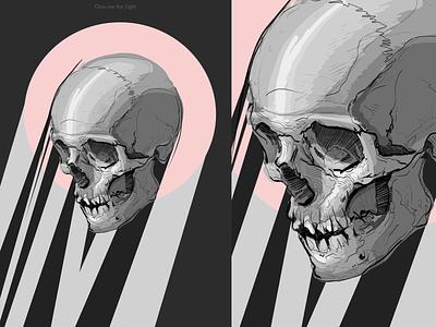 Skull Poster editorial art abstract web illustration photoshop artwork photoshop digital art illustrations illustration illustration art poster art 2d art vector skull art skull poster