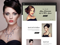 Ruby Jewelry eCommerce Store