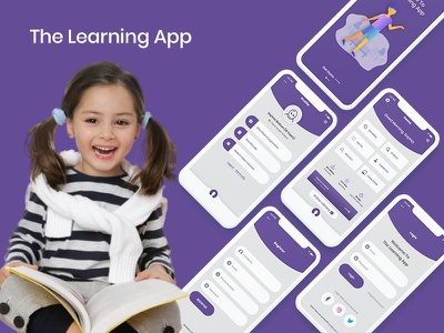 The Learning App - UI Kits for E-learning Platform