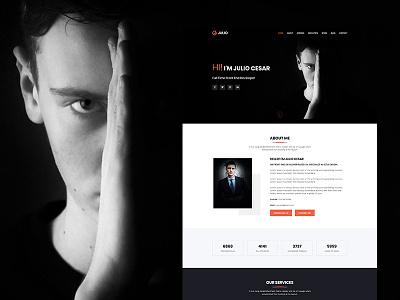 Julio - Creative Portfolio HTML Template