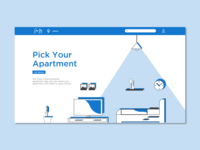 Our Stay Landing Page