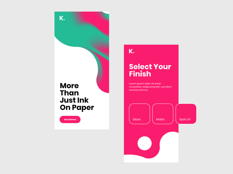 Kemi App Concept chemistry chemical chemist print printers printer branding mobile web website ux ui idea adobe xd design concept