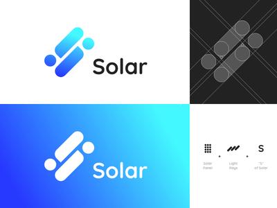Solar Logo Concept