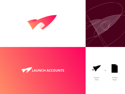 Launch Accounts Logo