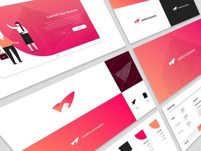 Launch Accounts Branding