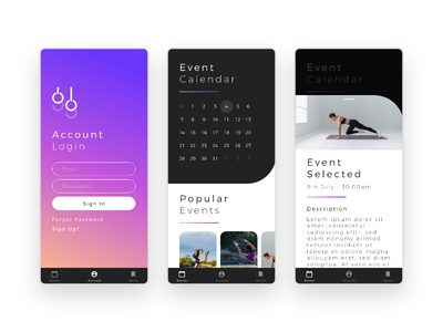 Gravity Gymnastics - App Concept
