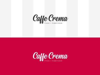 Caffe Crema Logo Concept