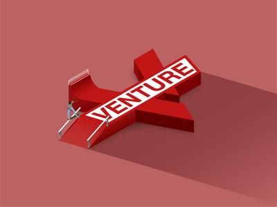 Venture Logo - Skate spot skating trucks venture grind crooked isometric illustration skateboarding skateboard skate sk8 vector illustration