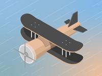 Airplane Skate