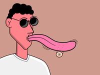 Skate Tongue