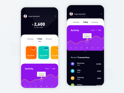 Mobile app - Financial application