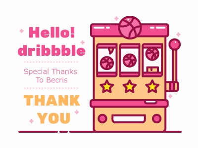 Hello Dribbble >3< jackpot game machine slot
