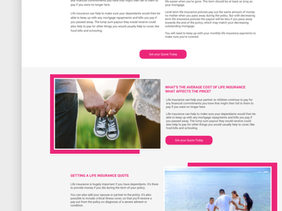 Insurance Website Design website design webdesigns webdesigner webdesign designs uxdesign ux website web ui design