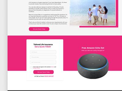 Insurance Web Design webdesigner ux insurance company insurance designs uxdesign website ui web design