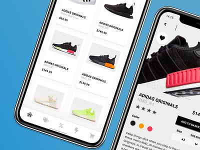 Ecommerce Shop Front Product - Adidas ecommerce website ecommerce online shop web design webdesign clothing blue app adidas originals adidas website web ux ui design