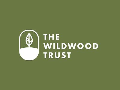 The Wildwood Trust Logo Concept visual identity redesign uiux revamp logodesign rebrand wildlife charity brand identity brand branding logo ui design