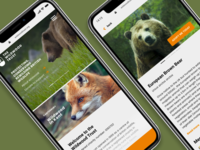 The Wildwood Trust Mobile Site Concept