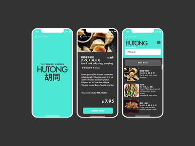 UI Concept London Restaurant web design webdesign designs brand design mobile website mobile ui ux website web ui branding design
