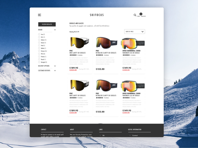 Ecommerce Search Results Page Concept filters search results ecommerce design ecommerce websitedesign uxdesign desktop ux website web ui design
