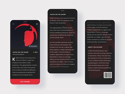 E-Book App ui design online shop reading app mobile store mobile illustration cleaning clean ui books app uiux uidesign dailyuichallenge dailyui