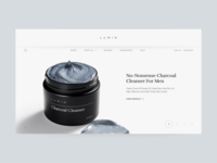 Beauty Store Landing Page Concept