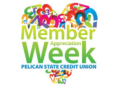 Member Appreciation Week logo membership appreciation rainbow colorful