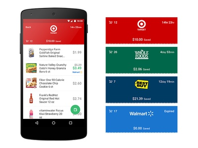 Windfall Receipt Detail Page for Android