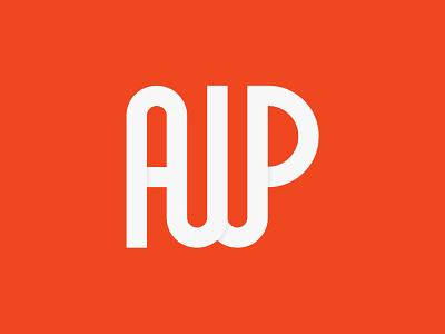 AWP logo app wordmark logomaker lettermark monogram logo monogram logotype logosai logomark logoplace logos illustration logodesign design art brand identity identity design branding design branding brand design logo
