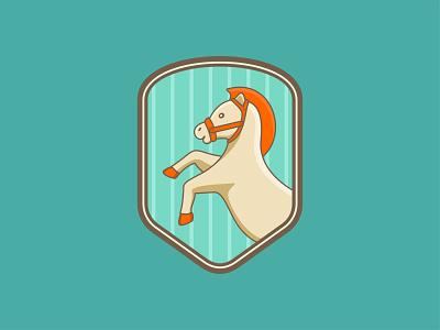 HORSE logo app emblem design emblem logo logo elements logo exploration logo conception pictorial mark animal logo horse logo animal horse branding design vector design art logoplace branding illustration brand design brand identity logo