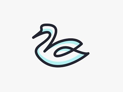 SWAN logo mascot symbol icon logo symbol symbol pictorial mark pictorial logo animal swan logo swans swan vector design logodesign brand identity illustration logos identity design branding logo brand design