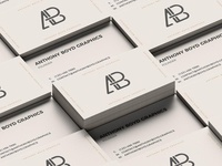 Free Business Card Grid Mockup