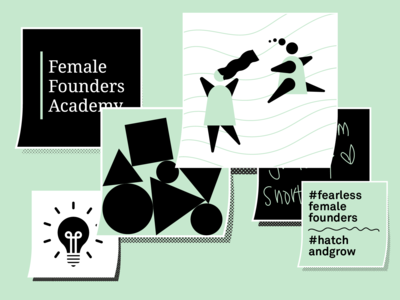 Female Founders Academy Illustration