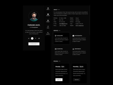Personal UI Template
