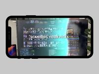 Dota 2 Pick advisor augmented reality dota 2 dota muzli app uxui animation ui ux design clean minimal